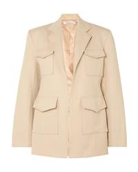 Женский светло-коричневый пиджак от Georgia Alice