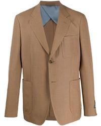 Мужской светло-коричневый пиджак от Gucci