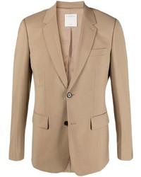 Мужской светло-коричневый пиджак от Sandro Paris