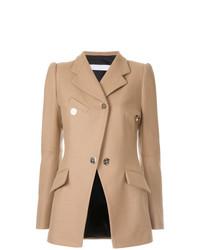 Женский светло-коричневый пиджак от Tamuna Ingorokva