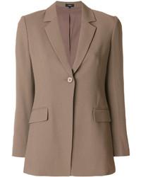 Женский светло-коричневый пиджак от Theory