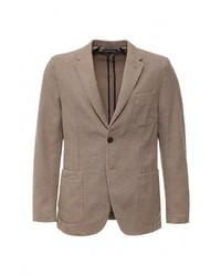 Мужской светло-коричневый пиджак от Tommy Hilfiger