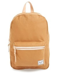 Светло-коричневый рюкзак из плотной ткани