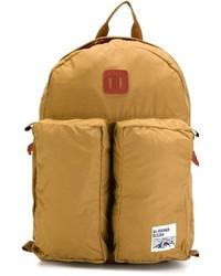 Мужской светло-коричневый рюкзак из плотной ткани
