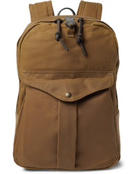 Мужской светло-коричневый рюкзак из плотной ткани от Filson