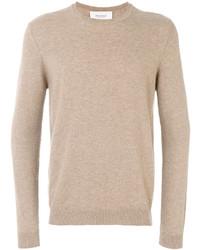 Мужской светло-коричневый свитер с круглым вырезом от Pringle