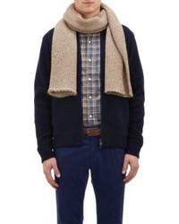 Светло-коричневый шарф
