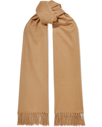 Женский светло-коричневый шарф от Johnstons of Elgin