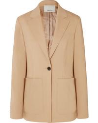Женский светло-коричневый шерстяной пиджак от 3.1 Phillip Lim