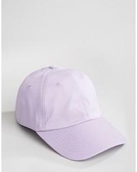 Мужская светло-фиолетовая бейсболка от Asos