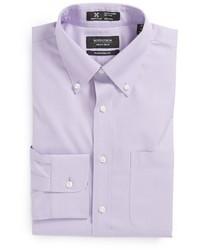 Светло-фиолетовая классическая рубашка
