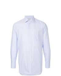 Мужская светло-фиолетовая классическая рубашка от Gieves & Hawkes