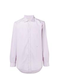 Мужская светло-фиолетовая классическая рубашка от Massimo Alba