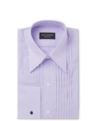 Мужская светло-фиолетовая классическая рубашка от Maximilian Mogg