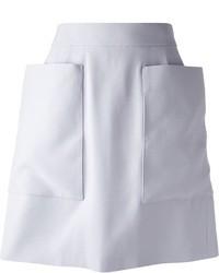 Светло-фиолетовая пышная юбка от Alexander McQueen
