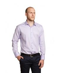 12ec619c0bd756d ... Мужская светло-фиолетовая рубашка с длинным рукавом от Sahera Rahmani