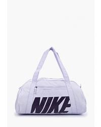 Женская светло-фиолетовая спортивная сумка из плотной ткани от Nike