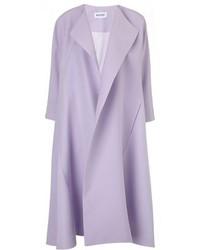 Светло-фиолетовое пальто