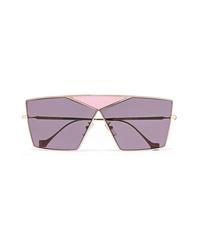 Женские светло-фиолетовые солнцезащитные очки от Loewe