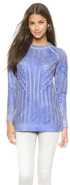 женский светло фиолетовый вязаный свитер от Eleven Paris 14 870 руб
