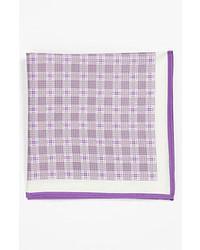 Светло-фиолетовый нагрудный платок