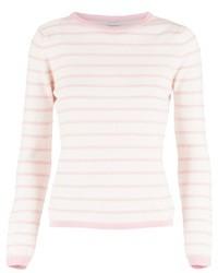 свитер с круглым вырезом в горизонтальную полоску original 1332035