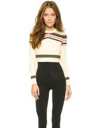 свитер с круглым вырезом с жаккардовым узором original 1332050