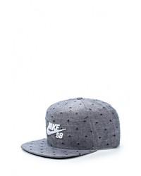 Мужская серая бейсболка от Nike