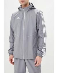 Мужская серая ветровка от adidas