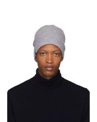 Мужская серая вязаная шапка от Mackage