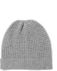 Женская серая вязаная шапка от Madeleine Thompson
