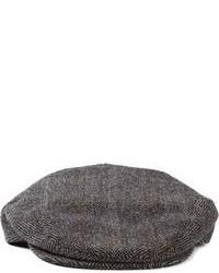 """Мужская серая кепка с узором """"в ёлочку"""" от Dolce & Gabbana"""