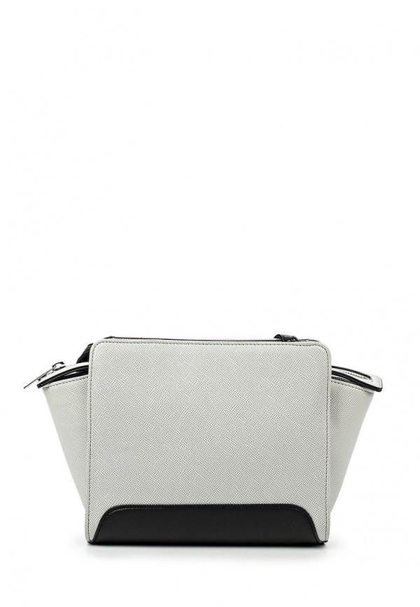 a0d83784e466 Серая кожаная сумка через плечо от Armani Jeans   Где купить и с чем ...