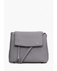 27217ba53bb3 Купить серую кожаную сумку через плечо - модные модели сумок через ...