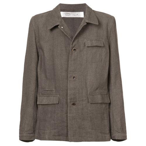 Мужская серая куртка в стиле милитари от Individual Sentiments