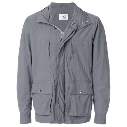 Мужская серая куртка в стиле милитари от Kired