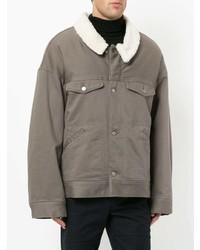 Мужская серая куртка в стиле милитари от Undercover