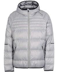 Мужская серая куртка-пуховик от adidas