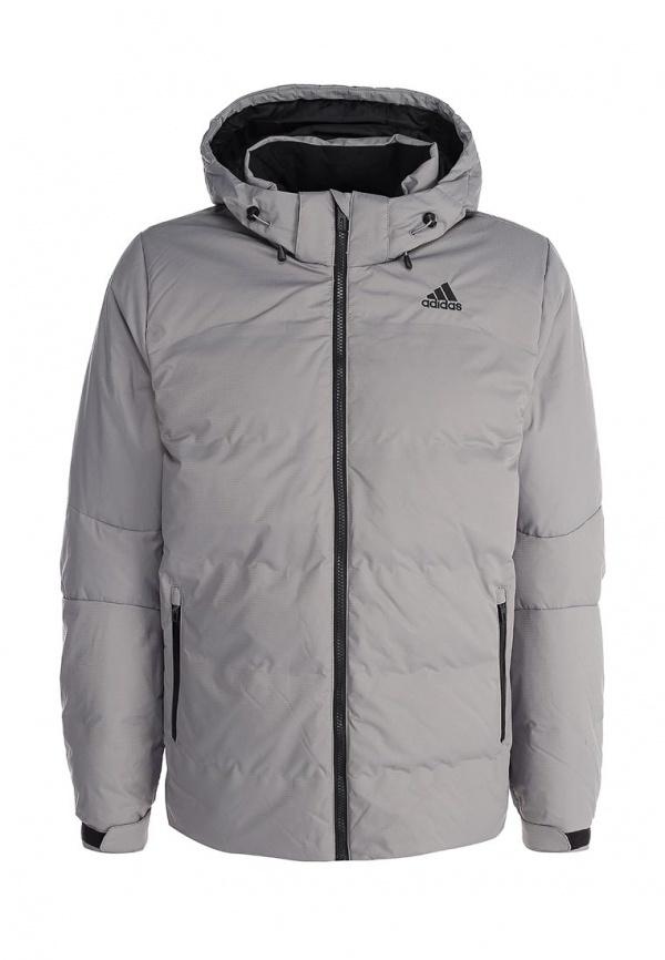 8d6a986e4ccb Мужская серая куртка-пуховик от adidas Performance   Где купить и с ...