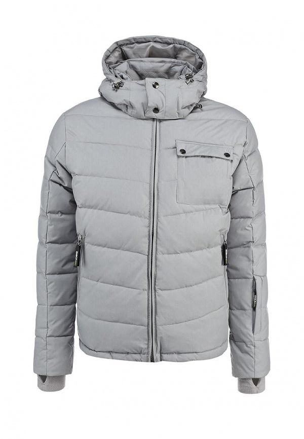 b112cecb808c Мужская серая куртка-пуховик от Baon   Где купить и с чем носить