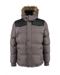 3540c58a612b Мужская серая куртка-пуховик от Napapijri   Где купить и с чем носить