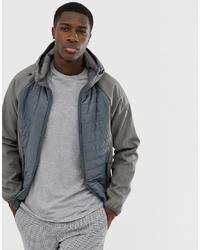 Мужская серая куртка-пуховик от Esprit