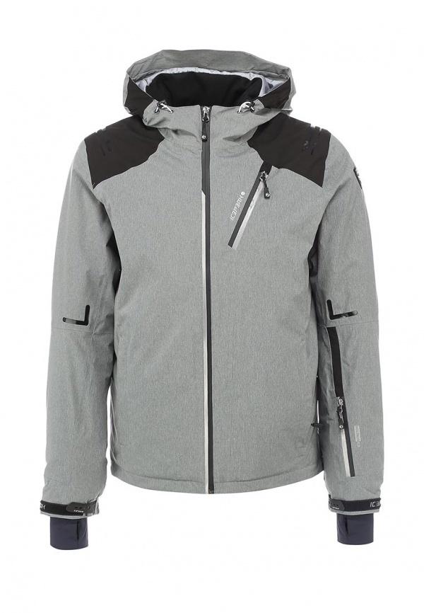 12706635b027 Мужская серая куртка-пуховик от Icepeak   Где купить и с чем носить