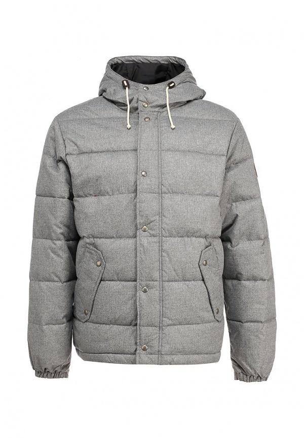 7e2e7ea8b86e Мужская серая куртка-пуховик от Quiksilver   Где купить и с чем носить