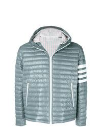 Мужская серая куртка-пуховик от Thom Browne