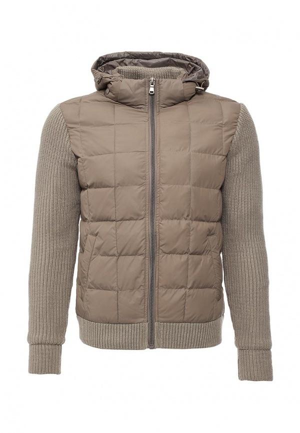 a548418ac0d8 Мужская серая куртка-пуховик от Y.Two   Где купить и с чем носить