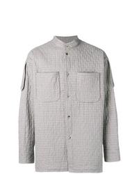 Мужская серая куртка-рубашка в шотландскую клетку от Vivienne Westwood