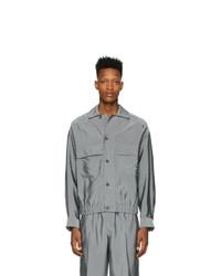 Мужская серая куртка-рубашка от 3.1 Phillip Lim