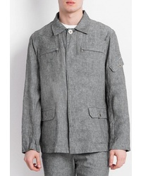 Мужская серая куртка-рубашка от FiNN FLARE