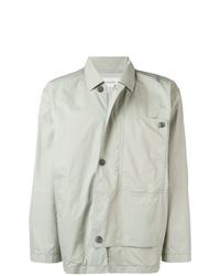 Мужская серая куртка-рубашка от Lemaire